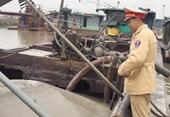 Một ông chủ khai thác cát trái phép ở Quảng Ninh bị khởi tố