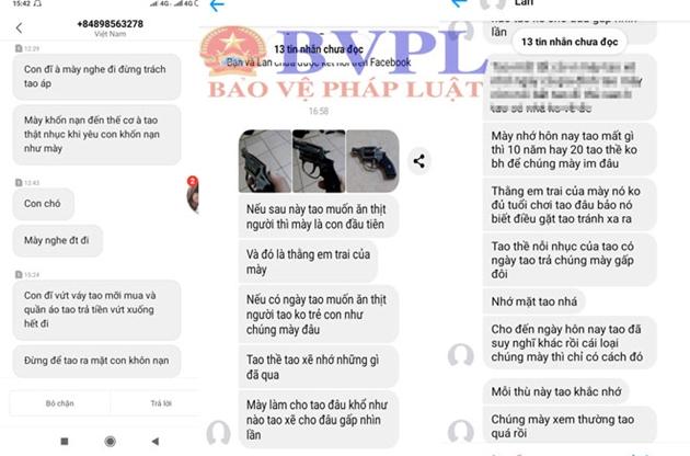 Tin nhắn đ e d ọa đến bệnh hoạn của Giàng A Dông