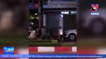 Hỗn chiến, nổ súng giữa hai nhóm thanh niên ở Vũng Tàu