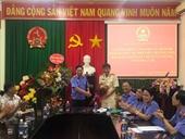 Bổ nhiệm Phó Viện trưởng VKSND huyện Ea H'leo