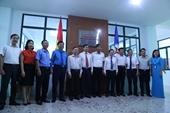 Nam Định Gắn biển công trình Trung tâm Điều khiển xa chào mừng 50 năm ngày thành lập Tổng công ty Điện lực miền Bắc