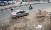 CLIP tên trộm đánh cắp xế hộp hớ hênh đỗ ven đường