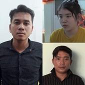 Nhóm nghi can giết người ở Bình Dương đến Công an trình diện