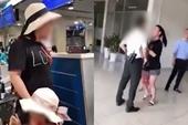 Đề xuất giáng cấp bậc hàm đối với nữ Công an làm náo loạn sân bay