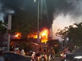 Cháy dữ dội tại siêu thị điện máy ở Hải Phòng