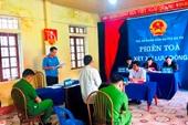 VKSND huyện Sa Pa phối hợp tổ chức phiên tòa xét xử lưu động án hình sự