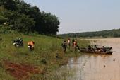 Lật xuồng ở hồ thủy điện Thác Mơ, một thanh niên mất tích, 2 thanh niên thoát nạn