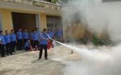 Tập huấn công tác PCCC  CNCH tại VKSND tỉnh Tuyên Quang