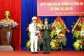 Công an tỉnh Bắc Ninh và Bắc Giang có tân Giám đốc