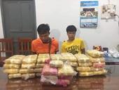 Bắt 2 đối tượng vận chuyển 215 000 viên ma túy tổng hợp