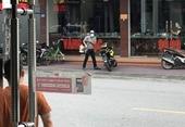 NÓNG Đối tượng dùng súng táo tợn cướp tiệm vàng ở Quảng Ninh