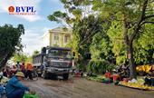 Nghệ An Dân tố xe chở rác gây ô nhiễm môi trường