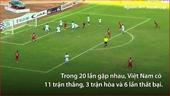 Lịch sử đối đầu giữa tuyển Việt Nam và Malaysia