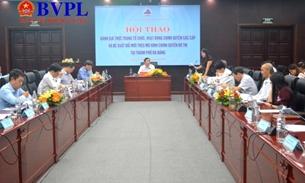 Đà Nẵng thảo luận phương án xây dựng chính quyền đô thị