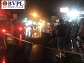 Tai nạn liên tiếp trong đêm, 2 người chết, 4 người bị thương ở Bình Dương