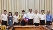 TP HCM trao quyết định bổ nhiệm hai Phó giám đốc Sở