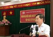 Đoàn đại biểu Quốc hội TP Hồ Chí Minh tiếp xúc cử tri quận 5