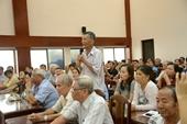 Đoàn Đại biểu Quốc hội lắng nghe ý kiến đóng góp của cử tri
