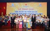 Trao giải cuộc thi tác phẩm báo chí về công tác giảm nghèo lần thứ 3