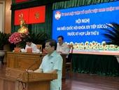 Viện trưởng Lê Minh Trí tiếp xúc cử tri phiên cuối tại TP Hồ Chí Minh