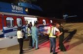 Điều máy bay trực thăng cấp cứu ngư dân bị tai nạn tại Trường Sa