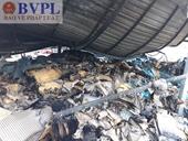 Điều tra vụ cháy tại cơ sở sản xuất Linh Thiên Thanh