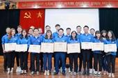 Khen thưởng 3 tập thể, 6 cá nhân thuộc Đoàn thanh niên trường ĐH Kiểm sát Hà Nội
