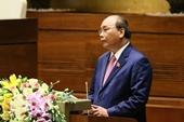 Toàn văn Báo cáo Thủ tướng trình bày trước Quốc hội