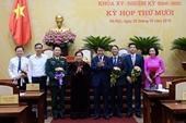 Hà Nội bầu, miễn nhiệm nhiều chức danh uỷ viên UBND TP