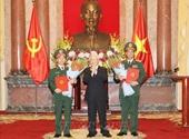 Tổng Bí thư, Chủ tịch nước Nguyễn Phú Trọng trao Quyết định thăng quân hàm Thượng tướng