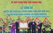 Công bố huyện Thọ Xuân đạt chuẩn nông thôn mới