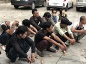 Triệt xóa ổ nhóm nghiện ma túy tiêu thụ xe gian vùng giáp ranh