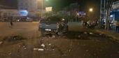 Lái xe bán tải say rượu điều khiển xe gây tai nạn giữa thành phố