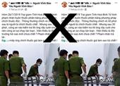 Phạt chủ tài khoản facebook đăng thông tin sai sự thật về Công an Hòa Bình