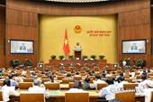 Xin ý kiến đại biểu Quốc hội chọn 4 bộ trưởng đăng đàn trả lời chất vấn
