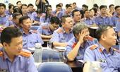 Cơ quan điều tra VKSND tối cao tập huấn công tác kỹ thuật hình sự