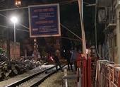 """Một người bị xe lửa cán tử vong gần khu vực """"phố cà phê đường tàu"""""""