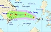 Bão số 5 tiến vào đất liền Nam Trung bộ Các địa phương khẩn trương đối phó