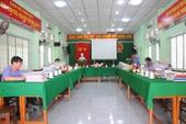 Lãnh đạo VKSND tối cao kiểm tra công tác tại VKSND tỉnh Vĩnh Long