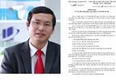 Bộ GD-ĐT phân công người phụ trách công việc thay cố Thứ trưởng Lê Hải An