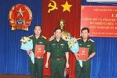 Thượng tá Đặng Quang Hiếu được bổ nhiệm Viện trưởng VKSQS Quân khu 7