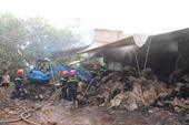 Lửa thiêu rụi xưởng bao bố đựng hạt điều, thiệt hại gần 1 tỷ đồng