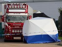 Video khám nghiệm hiện trường 39 người chết trên xe tải đông lạnh ở Anh