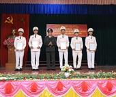 Công an huyện Hương Sơn điều động Công an chính quy về cơ sở