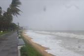 Vùng áp thấp đang mạnh lên, mưa lớn ở Trung và Nam Trung Bộ