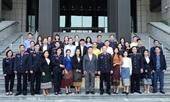 Đoàn Nhà báo nước CHDCND Lào thăm và làm việc với Báo Bảo vệ pháp luật