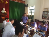 VKSND tỉnh Đắk Nông trực tiếp kiểm sát tại Cục Thi hành án dân sự