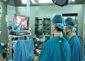 Lần đầu tiên ở miền Trung thực hiện thành công ca phẫu thuật nội soi cắt gan