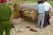 HY HỮU Xe lu cán chết người đi đường ở Hà Nội