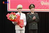 Công an tỉnh Quảng Nam có tân giám đốc
